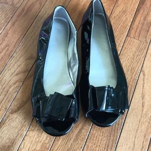Patent leather Me Too flats